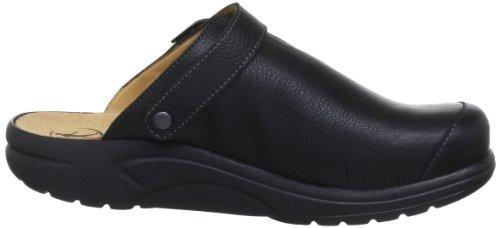 Ganter AKTIV Fabia, Weite F 5-202337-01000 - Zuecos de cuero para mujer Negro (Schwarz (schwarz 0100))