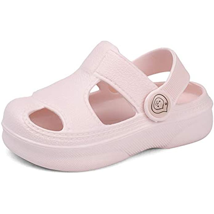 SEMARY Little Kids Summer Sandals Toddler Breathable Shoes Beach Sports Outdoor for Boys and Girls