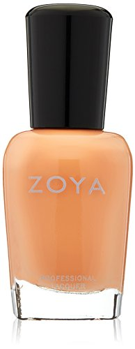 zoya peach nail polish - 2