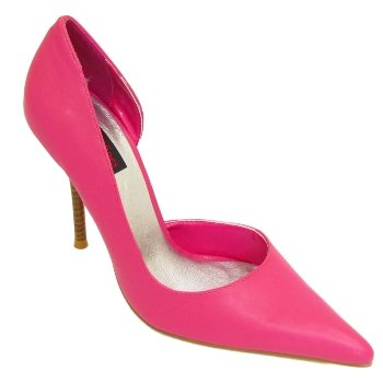 Womens Fuschia Pink Pointy Ladies Court Shoes  Amazon.co.uk  Shoes   Bags 12f85ccc7