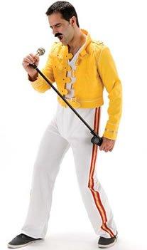 Giacca Wembley Freddie Mercury Will Rock Da Costume Gialla '86 I 4wX7tn1q