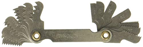 Hanson 12018 Standard Tread Pitch Gauge
