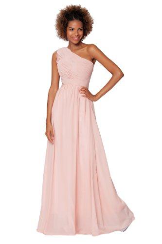 SEXYHER Gorgeous Encuadre de cuerpo entero Uno damas de honor del hombro vestido de noche formal - EDJ1572 Palejasper