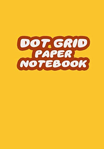 Dot Grid Paper Notebook: Yellow B5 Dotted White Paper Journal For Design, Drawing, Creating Own Bullet Style Journals, Games and More, Size 7 x 10 in | Guitar Print (Fashion Refill Paper)