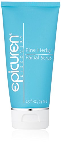 Herbal Scrub - Epicuren Discovery Fine Herbal Facial Scrub Apricot, 2.5 Fl oz