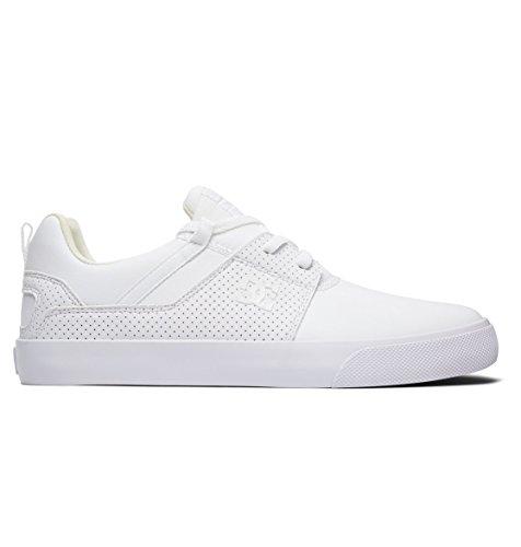 Chaussures Dc Herren Heathrow Vulc Skateboardschuhe, Blanc