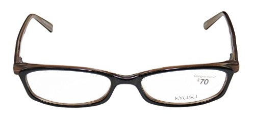 kyusu-0916-womens-ladies-designer-full-rim-eyeglasses-eye-glasses-52-17-140-black-horn
