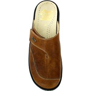 Fidelio Womens Hallux Gabi Clog Bunion Relief 33-716 Chestnut Leather 7CaDpOnLG7
