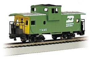 Caboose Burlington Northern - Bachmann Industries Inc. 36' Wide Vision Caboose Burlington Northern - N Scale