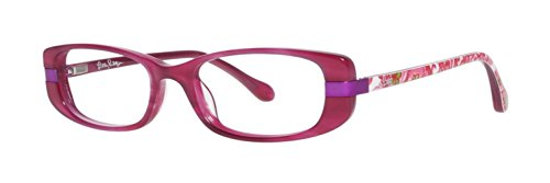 Lilly Pulitzer Lunettes Reeve Magenta 45 mm