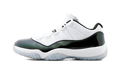 AIR JORDAN 11 Retro Low 'Emerald' - 528895-145 - Size 15 (Mens Air Jordan Retro 11 Low Basketball Shoes)