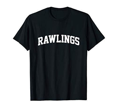 Rawlings Family First Last Name Arch T-Shirt