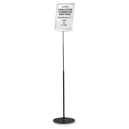 Wholesale CASE of 2 - Durable Floor Model Sign Holder-Floor Sign Holder, Adjustable,11