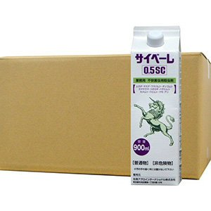 ムカデ ヤスデ 駆除 業務用 殺虫剤 サイベーレ0.5SC 900ml×12本 B07CH96GMR