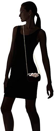 borsa borsa strass tracolla borsa a temperamatite piccola elegante Clutch frizione Superw Beige piccola WRSwfq