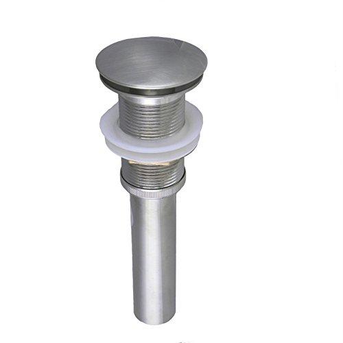 Estella ES14004-BN Umbrella Push Button Pop-Up Sink Drain w/out Overflow Brushed Nickel Finish durable service