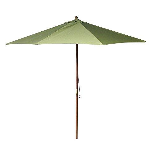 Wooden Market Umbrella