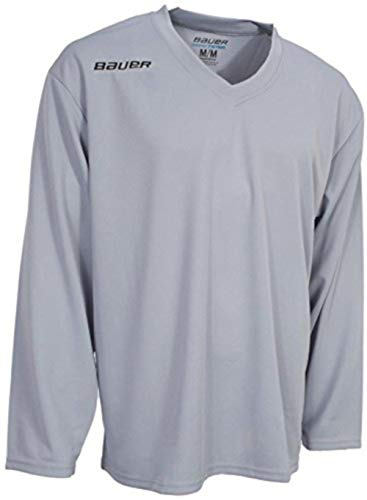 Bauer Flex Series Ice Hockey Practice Jersey - White - Adult X-Large