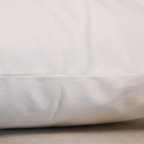 "ArrDecor Decorative Hidden Zipper Cotton and Polyester,Doodle,Assortment of Wildflowers,Throw Pillows for Bed Teen Girls,W 18"" x L 18"""