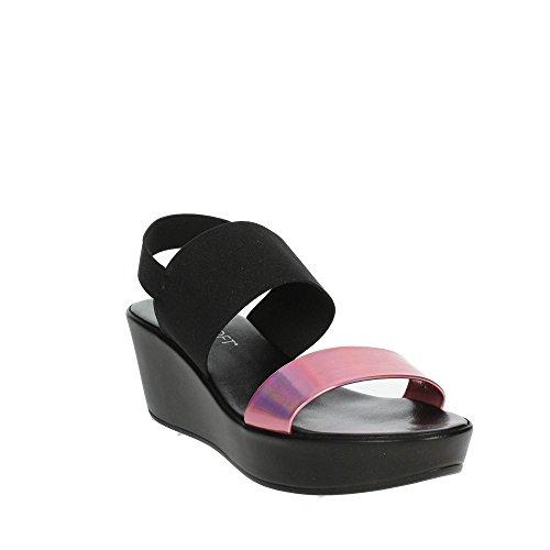 Femme Fuchsia Sandale Noir Cinzia Soft 003 IBC15 7zqwxYnIZ