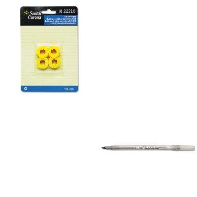 - KITBICGSM11BKSMC22210 - Value Kit - Smith Corona 22210 Lift-Off Tape (SMC22210) and BIC Round Stic Ballpoint Stick Pen (BICGSM11BK)