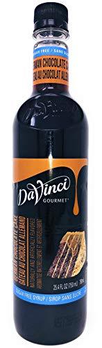 DaVinci Gourmet Sugar Free German Chocolate Cake Syrup, 750 mL Plastic Bottle