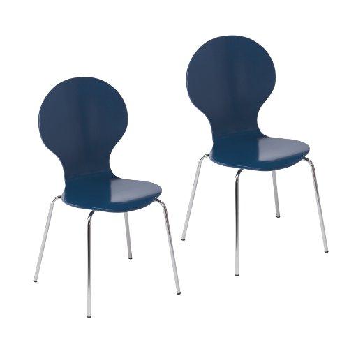 Conbie 2pc Chairs - Navy