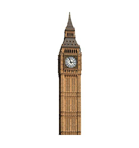 - Advanced Graphics Big Ben Clock Tower Life Size Cardboard Cutout Standup