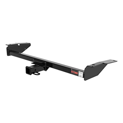CURT 13707 Class 3 Trailer Hitch, 2-Inch Receiver for Select Ford, Lincoln and Mercury Sedans
