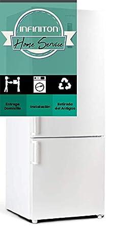 FRIGORIFICO COMBI INFINITON FGC-7093 INOX ANCHO ESPECIAL 70CM NO ...