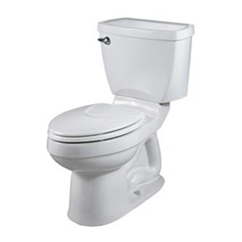 033056694374 - American Standard 2002.014.020 Champion-4 Right Height Elongated Two-Piece Toilet, White (seat not included) carousel main 0