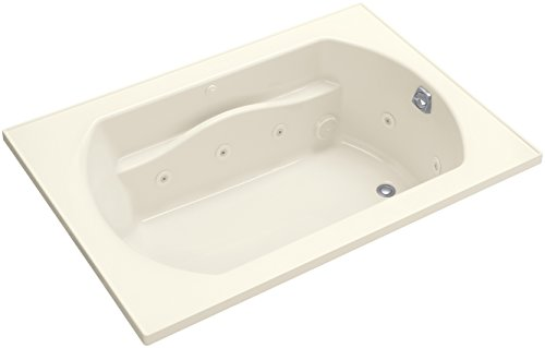 lawson 60 inch x 42 inch whirlpool bath with right hand drain biscuit