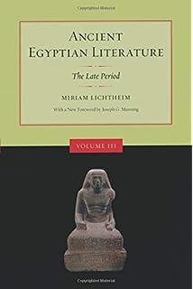 Amazon com: Ancient Egyptian Literature, Volume II: The New Kingdom