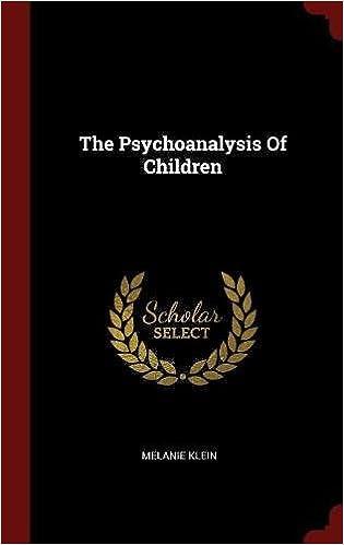 The Psychoanalysis Of Children