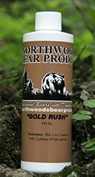 Gold Rush - #1 Bear Bait Attractant Additive, Strong Butterscotch Aroma bears can't resist (Bass Pro Fryer compare prices)