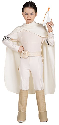 Star Wars Deluxe Padme Amidala Costume, Medium - Star Wars Padme Blaster