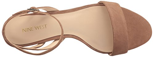 Pictures of Nine West Women's Lewer Suede Wedge Sandal 8 M US 2