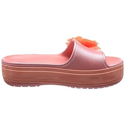 Crocs Women's Crocband Platform Vivid Blooms Slide Sandal   Slides