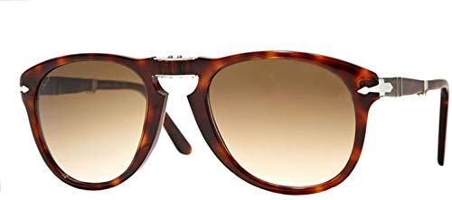 Persol PO0714 Sunglasses Havana/Crystal Brown Gradient 52