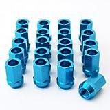 Race Nut Lightweight Aluminum Nuts BLUE (20)-Lightweight 12x1.5