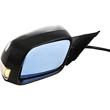 NEW POWER MIRROR SMOOTH BLACK LEFT FITS 2009-2014 ACURA TL 76250TK4A01ZD
