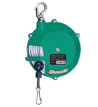 Capacidad de 1,5 Kg con cable de acero recorrido del cable de acero 1.300 mm. MC-2501B Equilibrador de Carga a 3,0 Kg