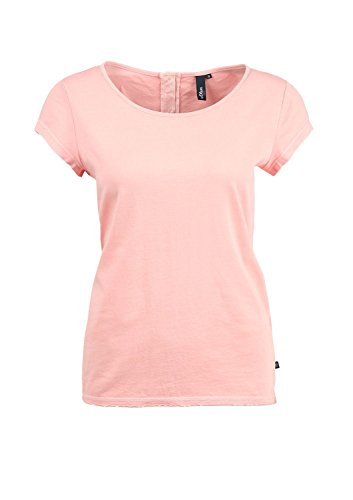 2276 41 Camiseta Denim 32 504 2009 Melba peach S oliver Mujer Orange RX7xTUw