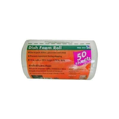 1/16 in. x 12 in. x 50 ft. Dish Foam Roll by Pratt Retail Specialties