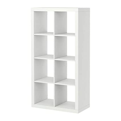 IKEA Kallax Bookcase Room Divider Cube 802Display 80275887 White