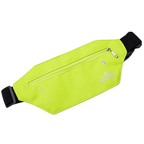 Verde Cremallera Multiuso Paquete Con De Auriculares Negro De Gusspower Cinturón Nylon Una Con Bolsillos Cintura de para Correr elegir Y Impermeable colores De variedad 6FgZfxqZw