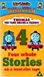 Thomas the Tank Engine & Friends - 4 Whole Stories [VHS]