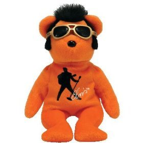 Amazon.com  TY Beanie Baby - BEANIE HOUSE ROCK the Elvis Bear  Toys ... 410f8c0cbbe