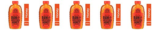 Nature Nate's 100% Pure Raw & Unfiltered Honey; 32-oz. Certified; Enjoy Honey's Balanced Flavors, Wholesome Benefits and Sweet Natural Goodness, 5 Pack by Nature Nate's (Image #5)