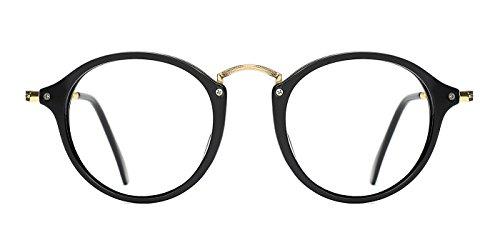 TIJN Vintage Round Non-Prescription Eyewear Eyeglasses or - Eyeglasses Round Vintage